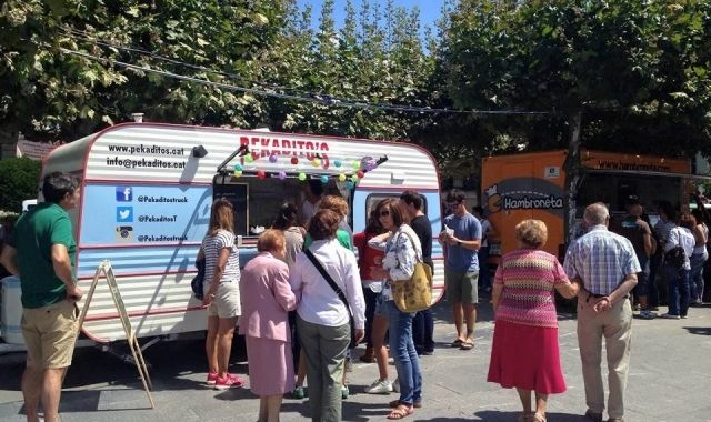 Food trucks have become a feature of many fairs