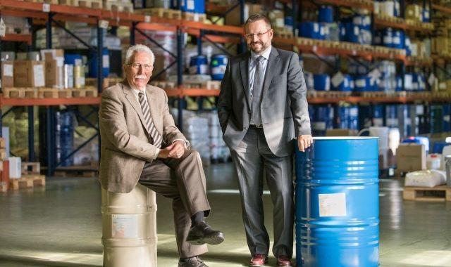 Sam i Albert Jul, la direcció de la companyia Escuder