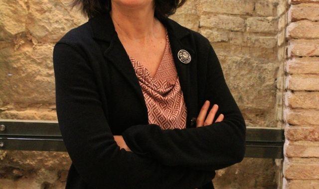 Esther Sánchez, president of the CARH