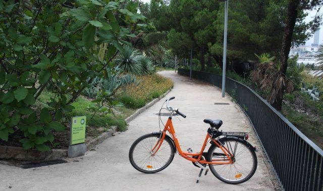Una de les bicicletes de Donkey Republic