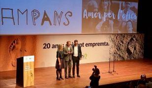 Toni Espinal, director general de Fundació Ampans, recull el 9è Premi Factor Humà | Laia Corbella