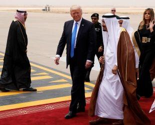 Donald Trump a l'Aràbia Saudita