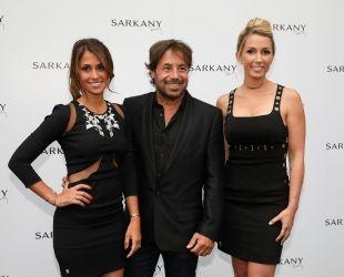 Antonella Roccuzzo (esquerra) amb Ricardo Sarkany i Sofía Balbi