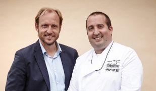 Àngel Bergadà i Francesc Bescompte de Pastry Factory