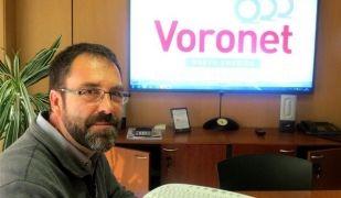El CEO de Voronet,  Voronet, Eduard Papell