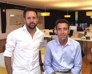Ramón Pujol i Joan Rovira, fundadors de Deliverea