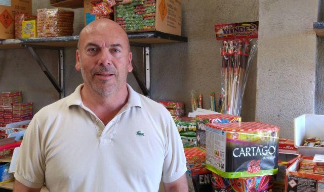 Àngel Andrés, responsable de comunicació d'Ars Pirotecnia | Cedida
