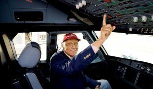 Niki Lauda no només és un mite de la Fórmula 1, també és un empresari de l'aviació