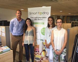 L'equip de Smartfooding