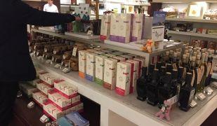 Un dels supermercats japonesos en què Tegust comercialitza les seves infusions