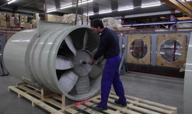 Sodeca es dedica a la producció de ventiladors industrials, sistemes de ventilació i extractors