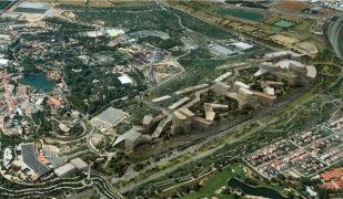 Imatge virtual de com seria el nou Barcelona World