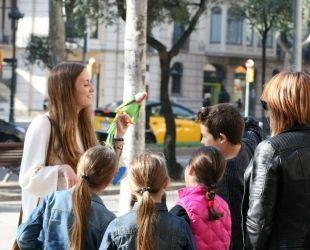 Barcelona Wink ofereix experiències guiades per una animadora amb un perfil d'educadora infantil
