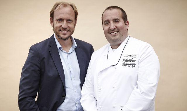 Francesc Bascompte i Àngel Bergadà han reflotat Pastry Factory | Cedida