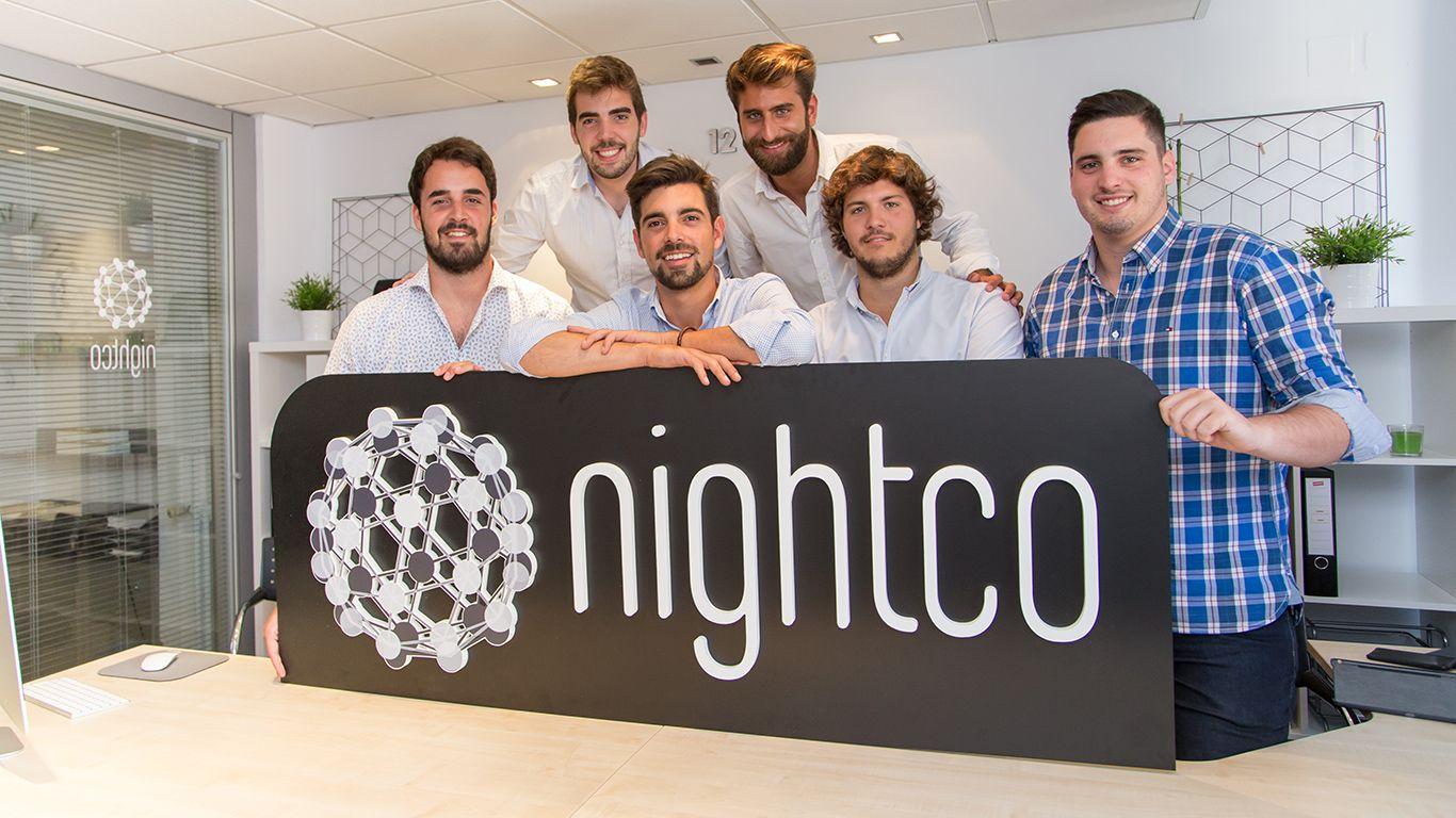 L'equip fundador de Nightco | Cedida
