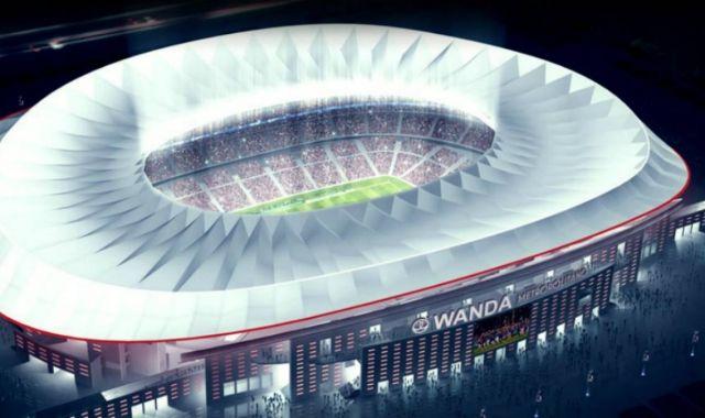 El nou estadi de l'Atlètic de Madrid