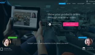 Whisbi permet a l'usuari viure a distància i en temps real l'experiència de compra en una botiga física