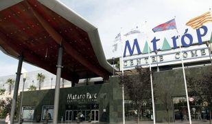 Un dels accessos del centre comercial Mataró Parc (ACN)