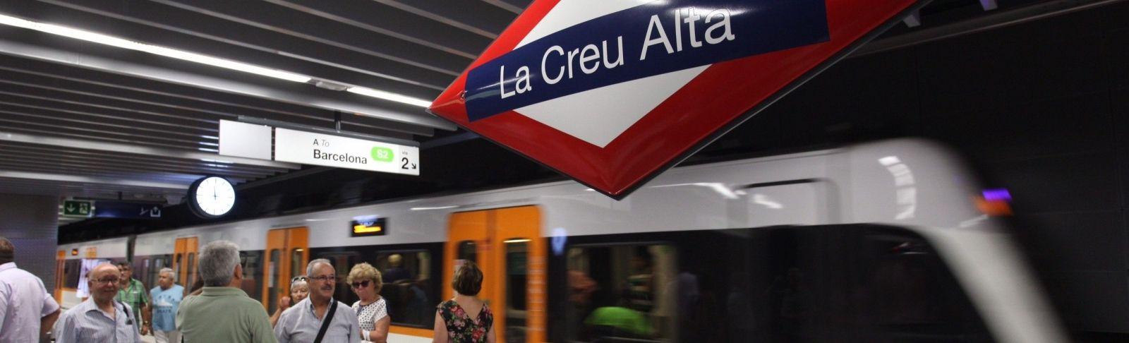 La inauguració de les noves estacions del Vallès ha incrementat el nombre de passatgers