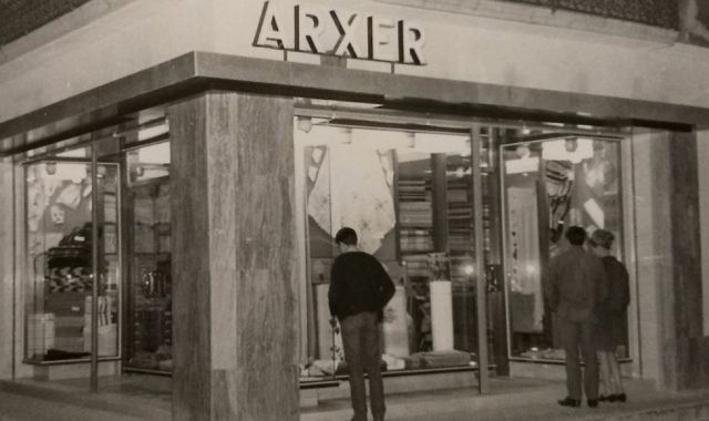 El 1903 va néixer Ca l'Arxer, una botiga tèxtil de Sant Feliu de Guíxols / Cedida
