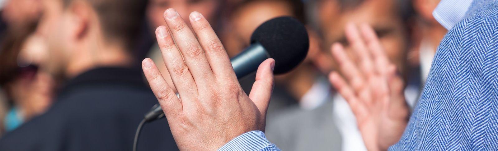 Les habilitats comunicatives del portaveu d'empresa es poden entrenar