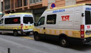 Les ambulàncies faran aturades parcials aquest divendres i l'1 de setembre