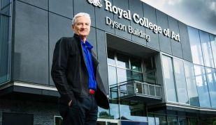Sir James Dyson, el fundador de l'empresa d'aspiradors sense bossa