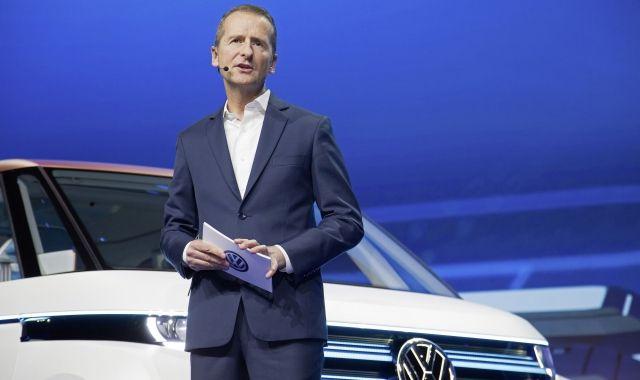 El president de Volkswagen, Herbert Diess