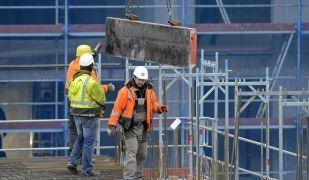 La construcció torna a destacar com un dels sectors més dinàmics en la creació d'ocupació