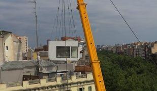 La Casa por el Tejado ja ha construït 42 habitatges sobre els terrats | Cedida