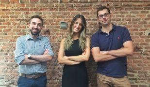 Els tres fundadors de RatedPower | Cedida