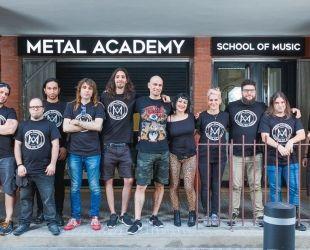 L'equip de Metal Academy. | Cedida