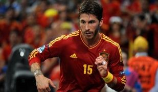 El defensa del Reial Madrid, Sergio Ramos