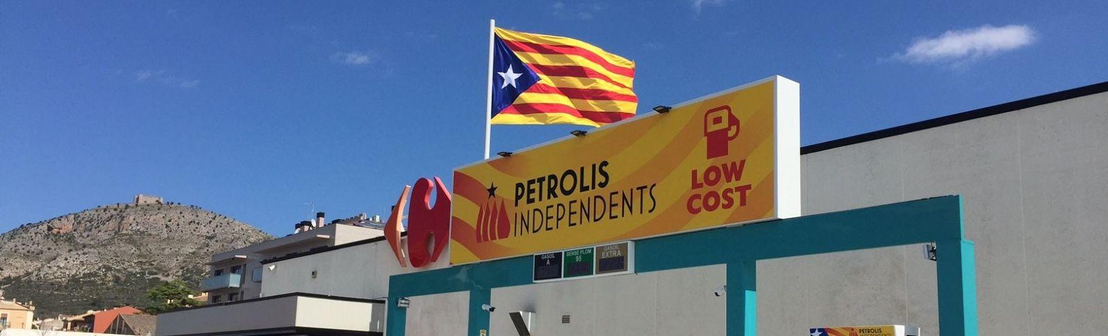 La benzinera de Petrolis Independents a Torroella de Montgrí / Cedida