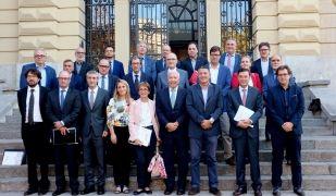 Membres del jurat dels premis Reconeixement 2017 al Progrés Empresarial