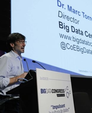 Marc Torrent és el director del Big Data Congress. / Cedida