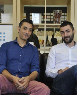 Miquel A. Mora i Albert Bosch, fundadors de Housfy | Aida Corón