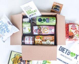 Una de les capses de Dietbox, la firma de Terrassa. Cedida