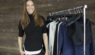 L'actriu Hilary Swank llança la seva marca de roba