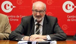 El president de la Cambra de Girona, Domènec Espadalé