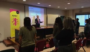El psicòleg Toni Mates en la seva participació al 'Prepara't' | Cedida