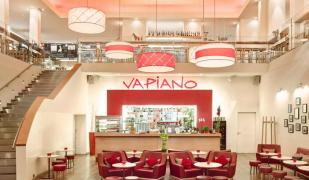 El restaurant Vapiano de Diagonal Mar