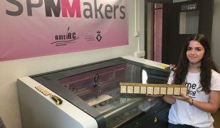 Un dels projectes de fabricació digital dissenyats al SPMakers