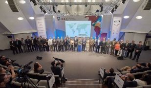 A la reunió de la XXI Conferència de les Zones Franques de les Américas |Consorci Zona Franca Barcelona