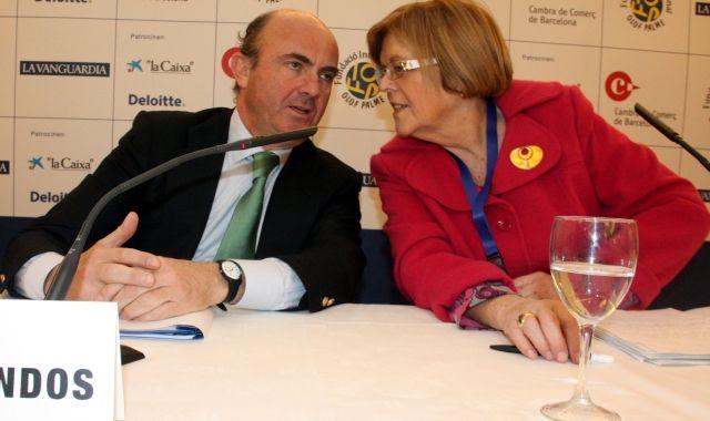 El ministre d'Economia, Luis De Guindos, ha participat en anteriors edicions de la trobada de S'Agaró