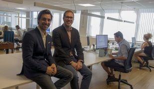 Aleix Fajardo i Xavier Trallero, fundadors d'Airning | Cedida