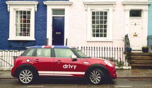 Un cotxe de Drivy a Londres