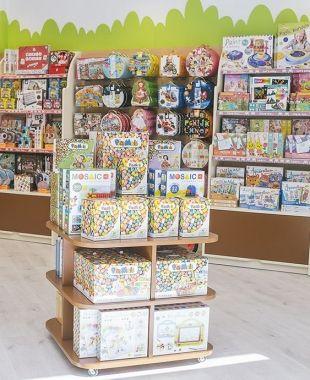 Una de les botigues d'Eurekakids | Cedida