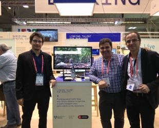 Alguns membres de l'equip de Foot Analyitics al Smart City