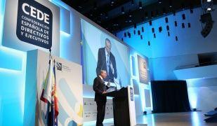Isidre Fainè en la 16a edició del Congrés de Directius   Cedida